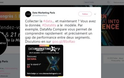 DataMa au salon du Data Marketing